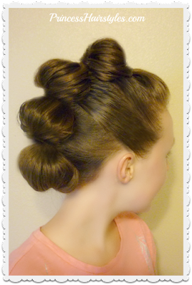 Topsy Tail Faux Hawk Tutorial, Hairstyles for Dance.