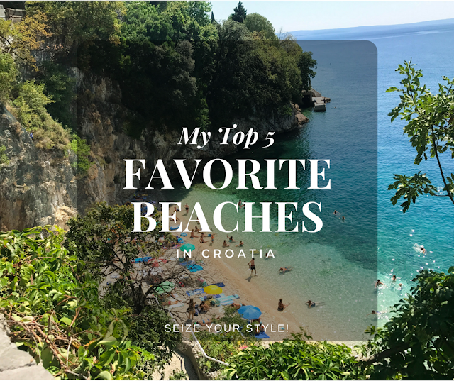 My top 5 Favorite Beaches in Croatia