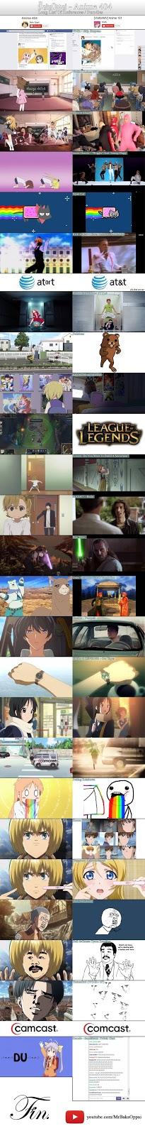 Escenas parodias anime 404