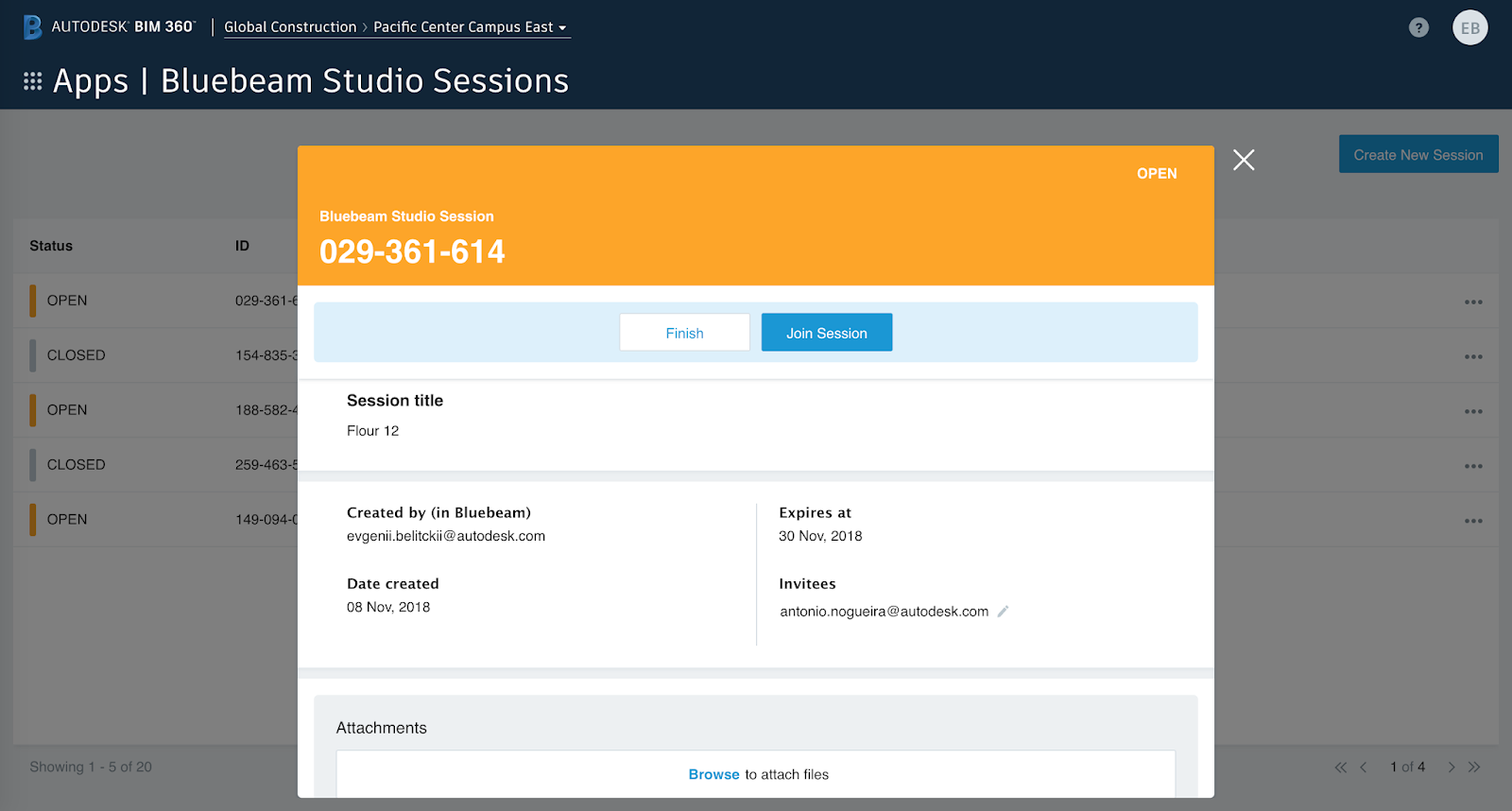 Revit Add-Ons: Bluebeam Studio Sessions for BIM 360