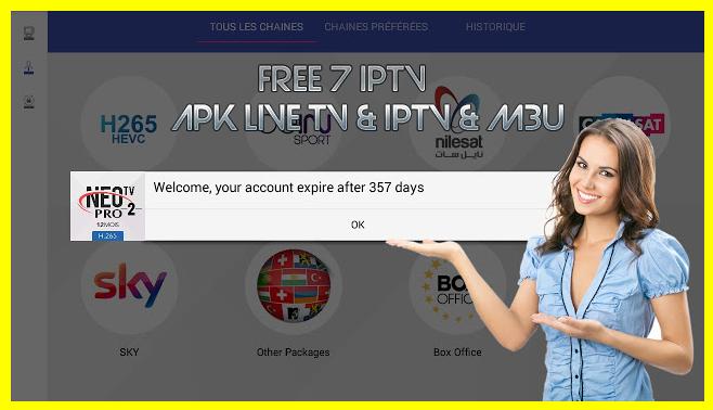 NEO TV PRO : PREMIUM IPTV + CODE ( 365 DAYS ) - free7iptv blogspot com