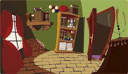 Room Background Comic 2