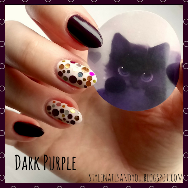 Dark Purple | Round Nail Glitter Thin Sequins | BeautyBigBang Review