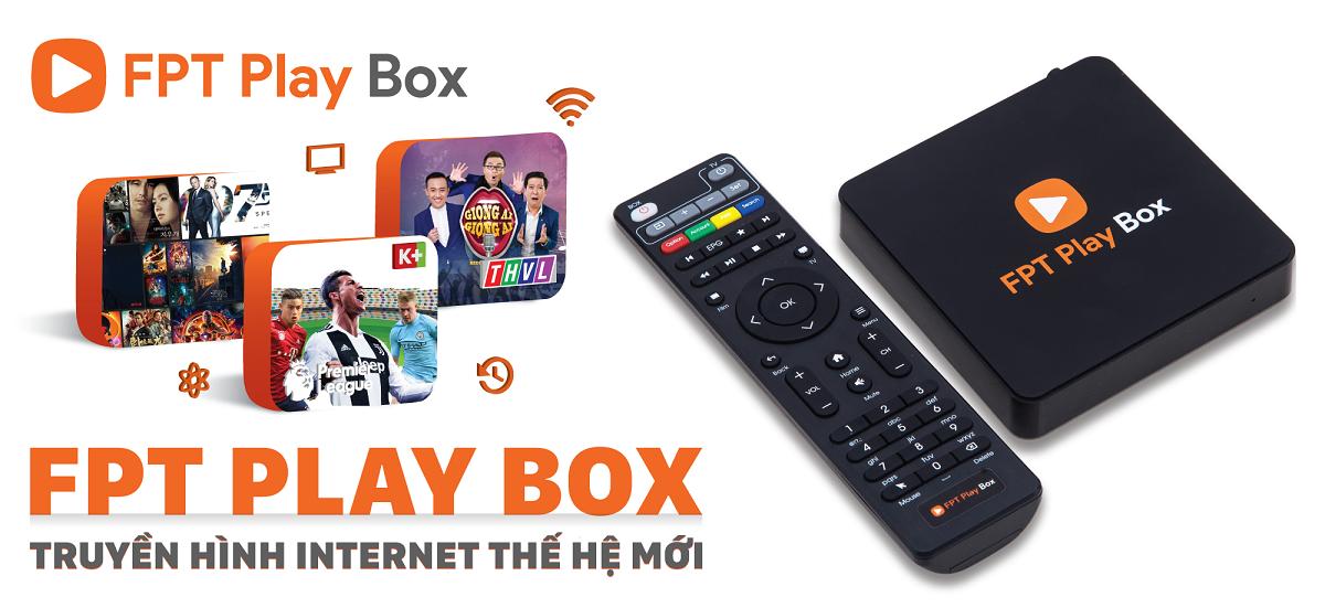 Android Tv box VTVgo V1 model 2018 tặng thẻ K+
