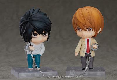 "Figuras: Nuevo nendoroid de L de ""Death Note"" - Good Smile Company"