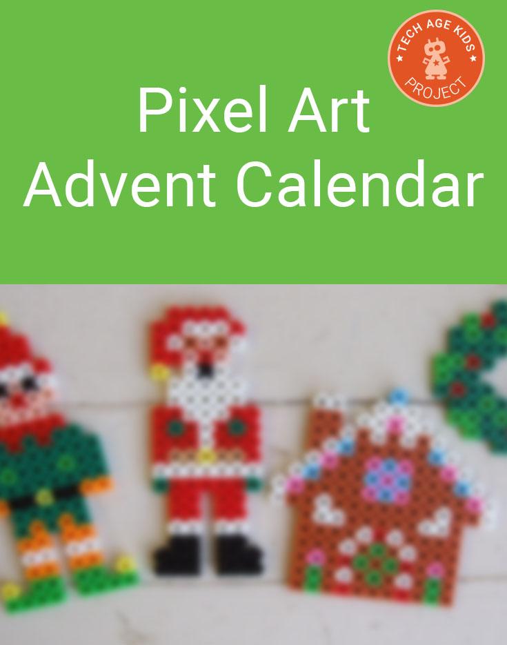 Pixel Art Advent Calendar - A Chocolate Alternative | Tech