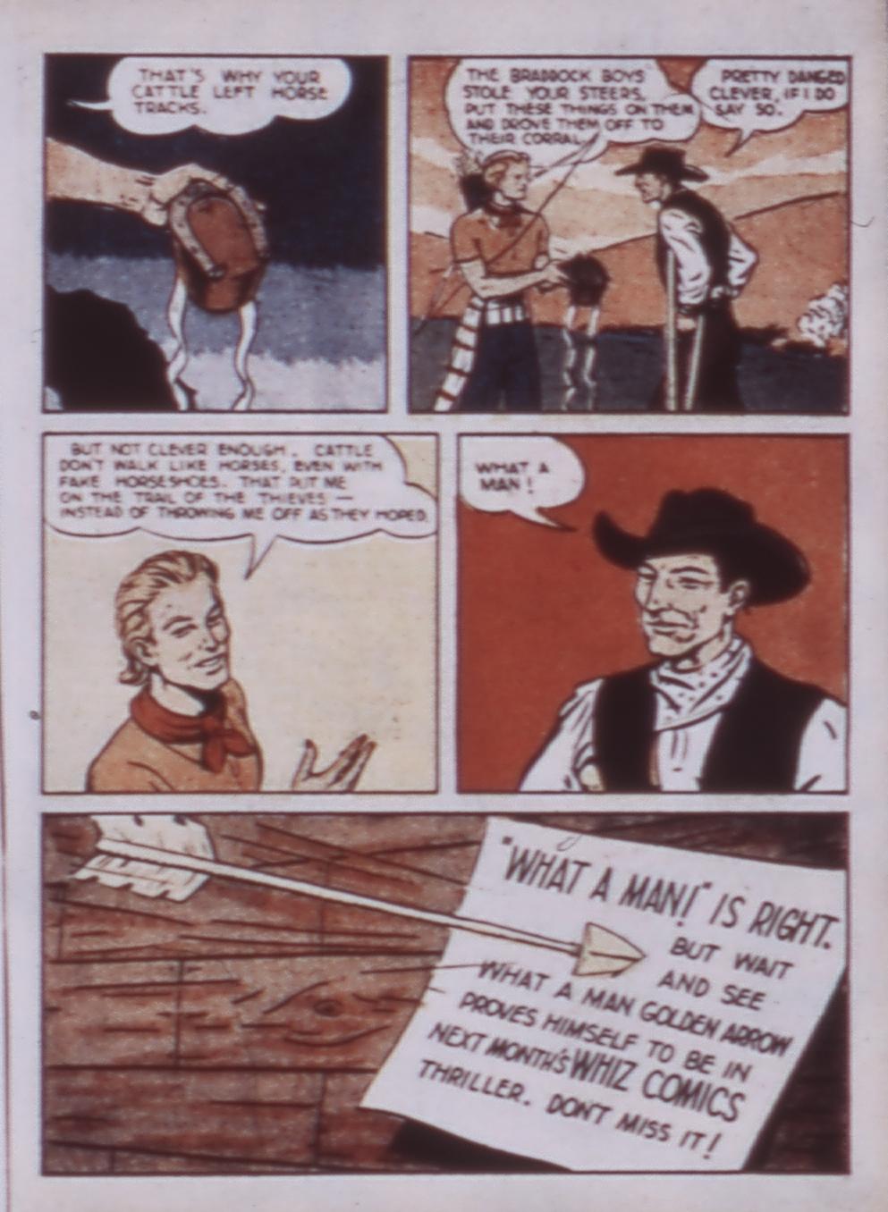Read online WHIZ Comics comic -  Issue #3 - 23