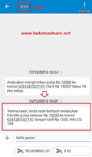Cara Transfer Pulsa Telkomsel Simpati