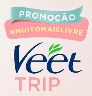 Cadastrar Promoção Muito Mais Livre 2017 Veet Trip