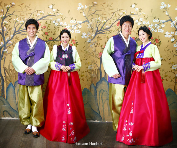 Korean Traditional Wedding Hanbok Designs