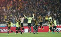 Η αποστολή των παικτών της ΑΕΚ για τον τελικό του κυπέλλου με τον ΠΑΟΚ