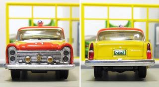 Tomica Limited Vintage Nippon Kotsu Taxi 2models