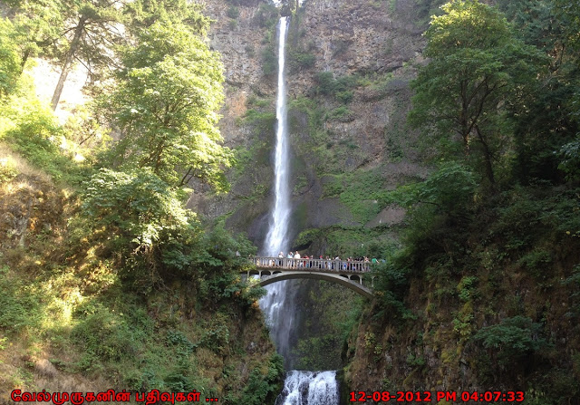 Oregon Multnomah Falls
