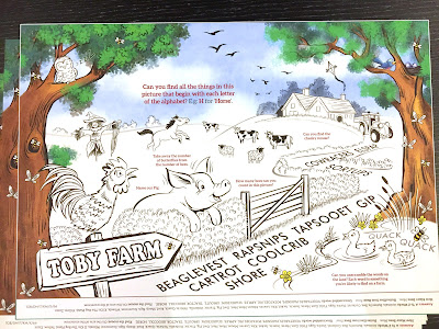 Image of illustration for Toby Tavern children's activity sheet