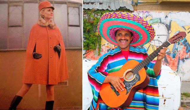 Кейп 60-х годов и мексиканское пончо