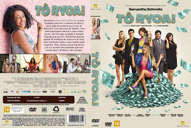 Capa DVD Tô Ryca