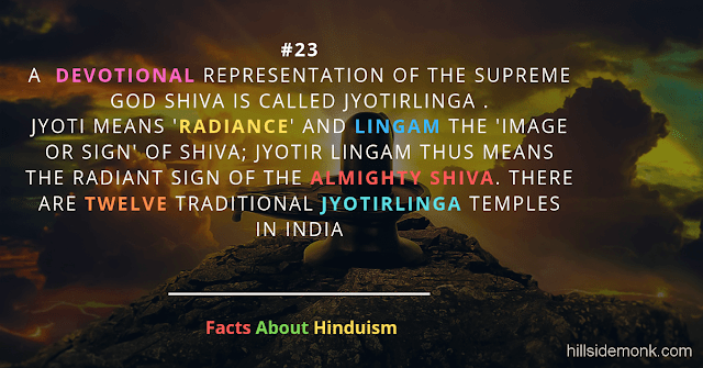 Fact About Hinduism 23 SHIVA JYOTIRLINGA Radiant Sign of The Almighty Shiv