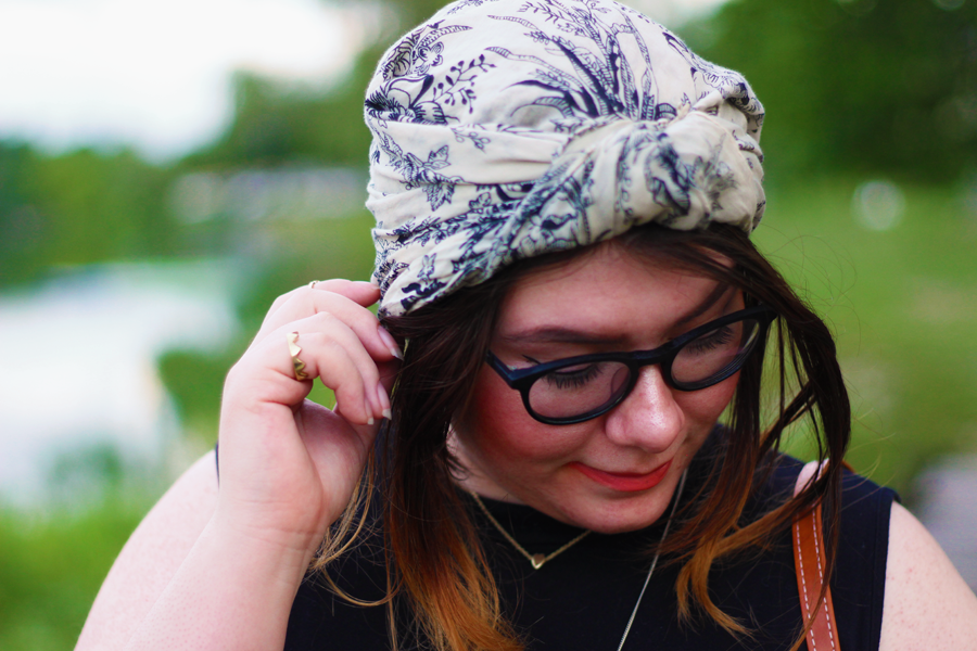 headscarf, head scarf, details, summer, outfit, summer outfit