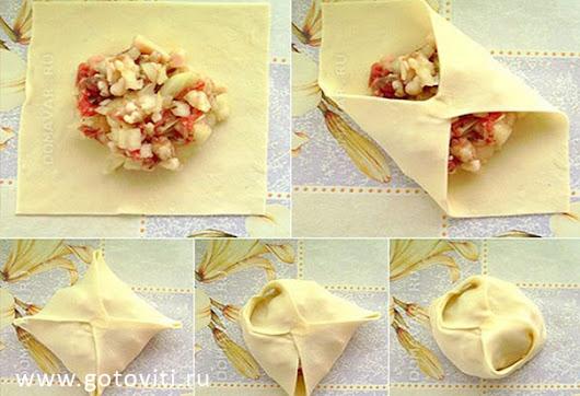 как готовить манты рецепт с фото пошагово