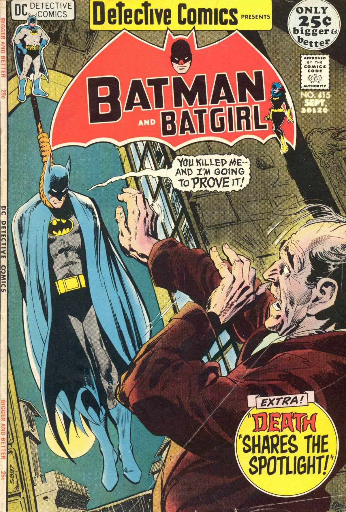 Detective Comics (1937) 415 Page 1