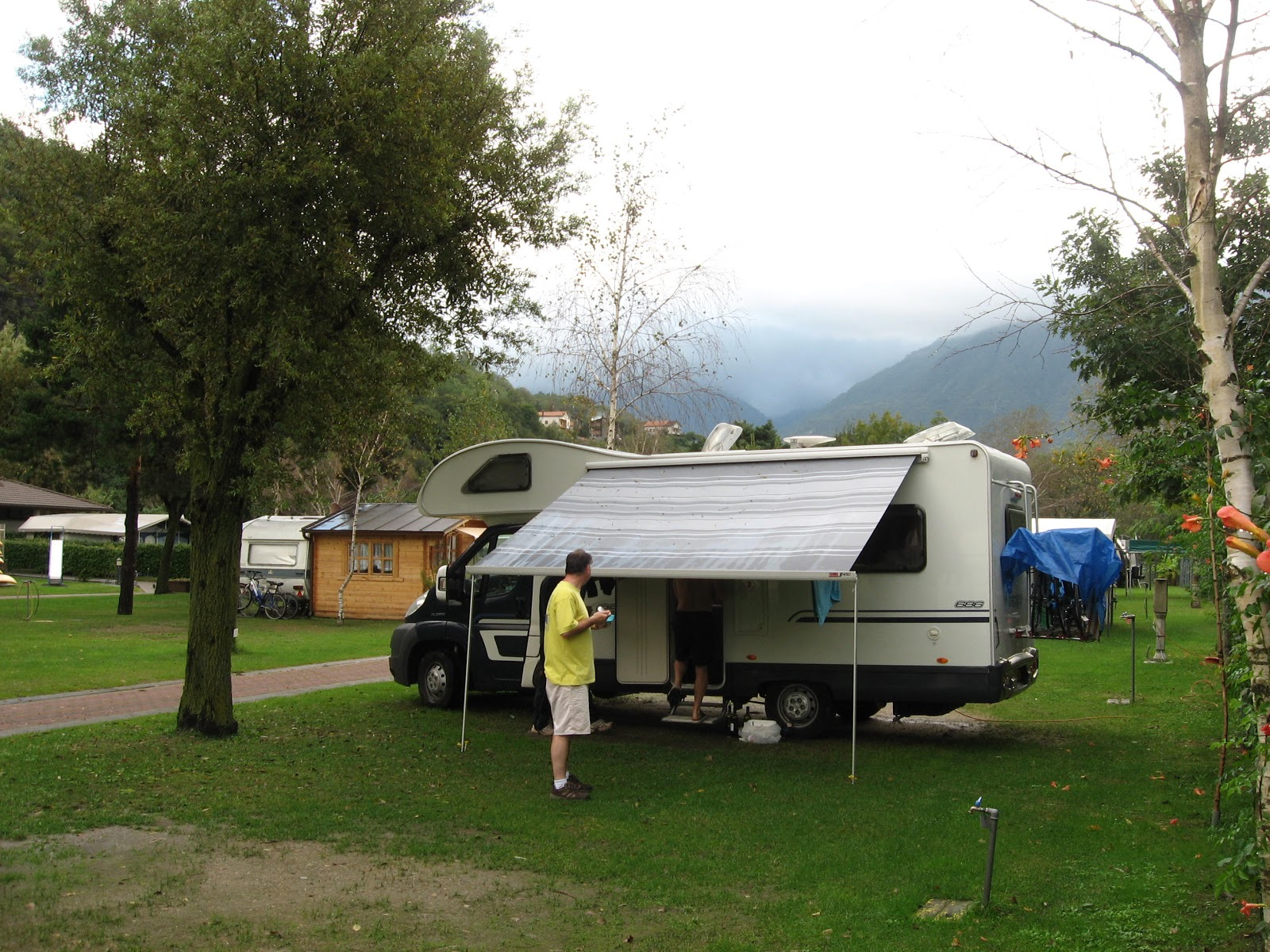 Camping Bellagio The Italian Job October 2012