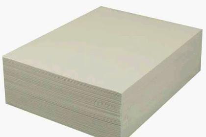 Ukuran Kertas Plano Dan Beragam Jenisnya