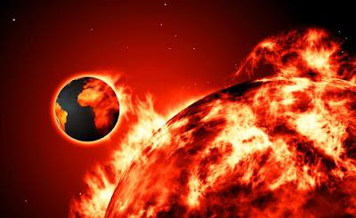 Resultado de imagen para el sol y el cambio climatico