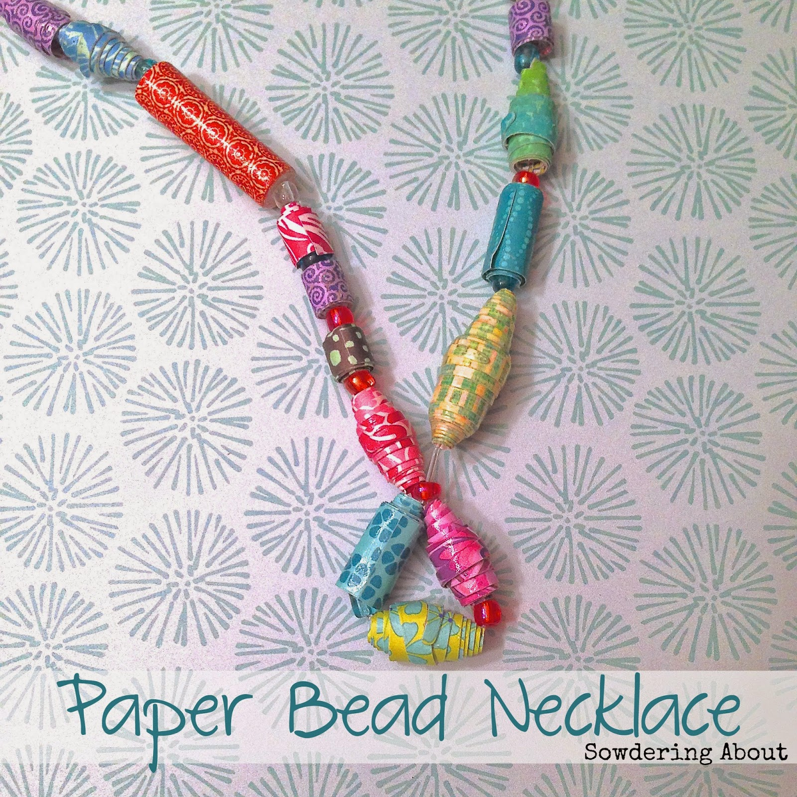 Diy silhouette charm necklace tutorial silhouette school paper bead necklac fandeluxe Choice Image