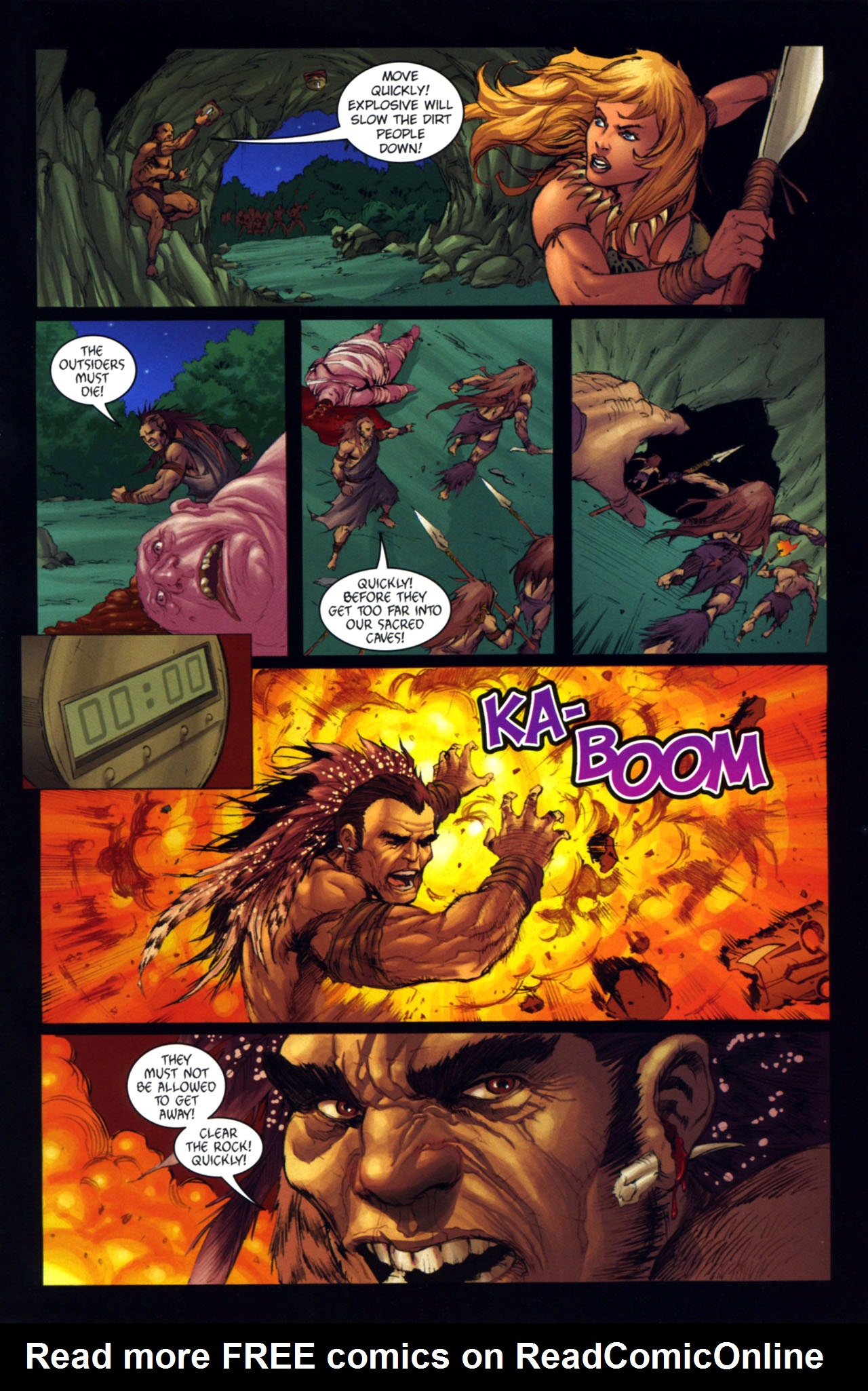 Read online Jungle Girl comic -  Issue #4 - 14