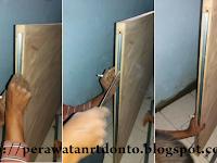 Cara Pasang Pintu Geser Rel (Sliding) Rumah Sendiri