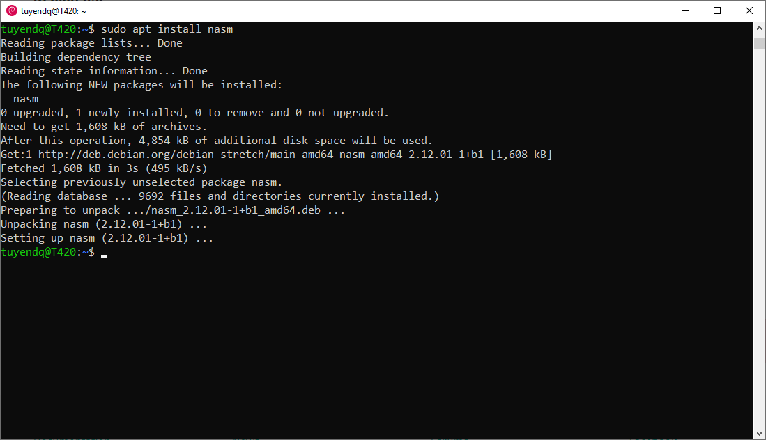 netwide assembler