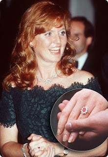Sarah Ferguson's Engagement Ring
