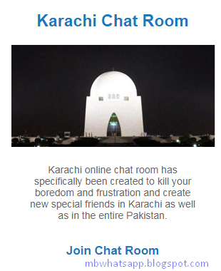 Pakistani Karachi Chat Room