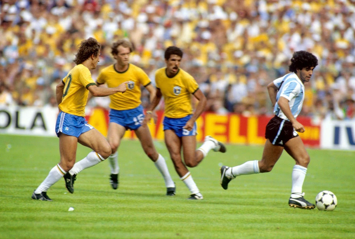 Rovesciata Volante 1982 Seconda Fase Brasile Argentina 3 1