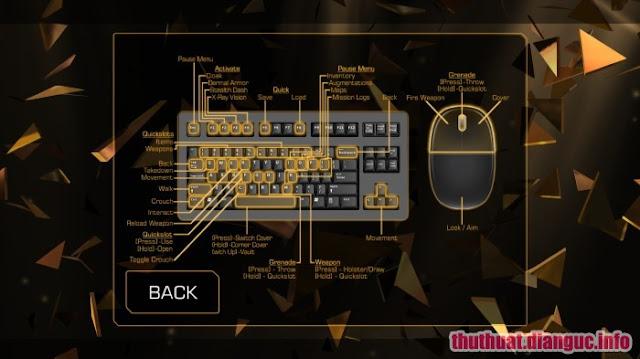 configure gaming Game Deus Ex The Fall