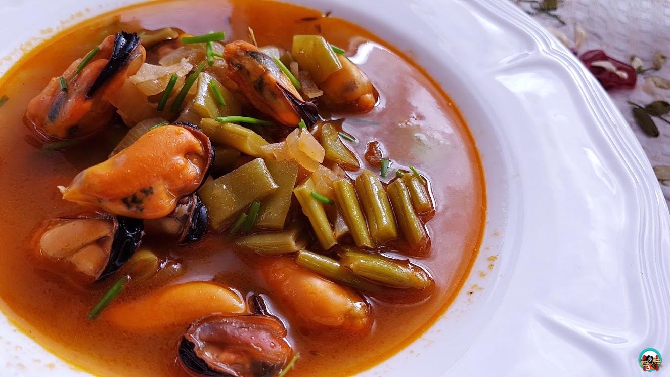 Guiso de mejillones y jud as verdes huele bien for Cocinar judias verdes