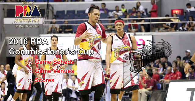 List of San Miguel Beermen 11 Games Elimination Round 2016 PBA Commissioner's Cup
