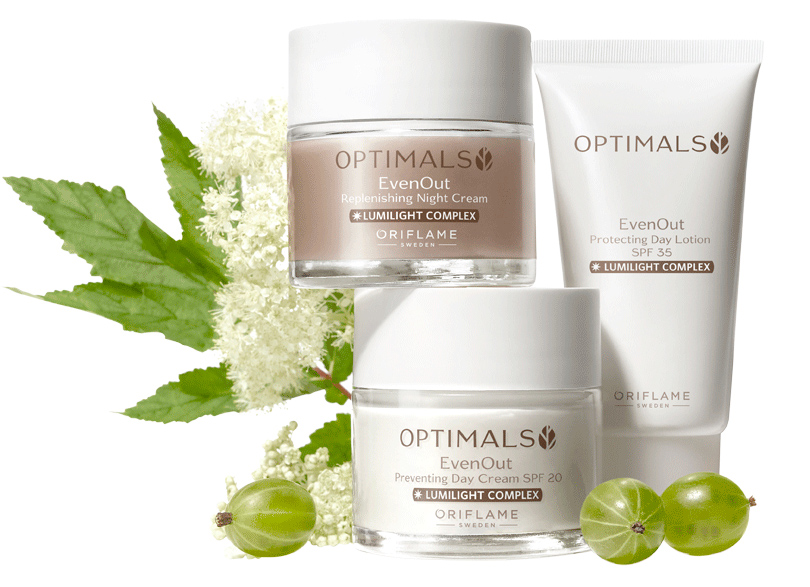 Linha Optimals Even Out da Oriflame