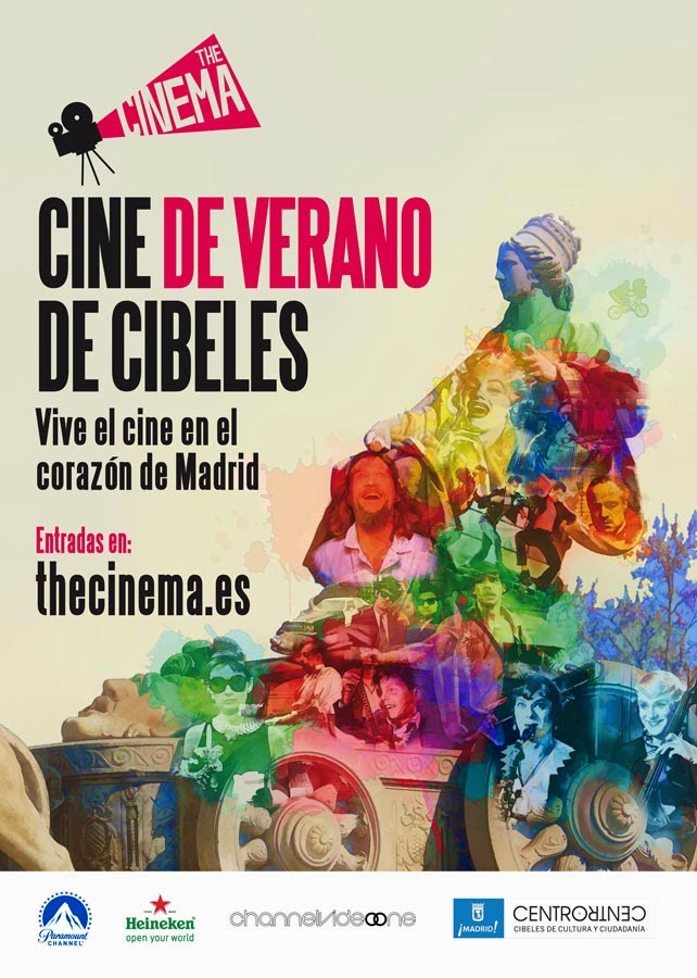 The Cinema Cibeles - El evento cinematográfico del verano en Madrid