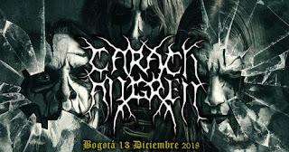 Concierto de Carach Angren en Bogota 2018