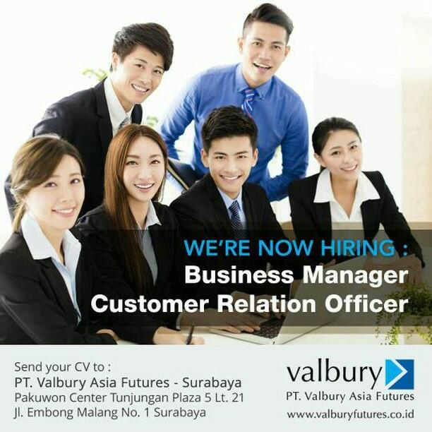 Business Manager Customer Relation Officer