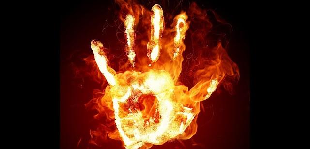 ardere, bruciare fiamme La scorribanda legale