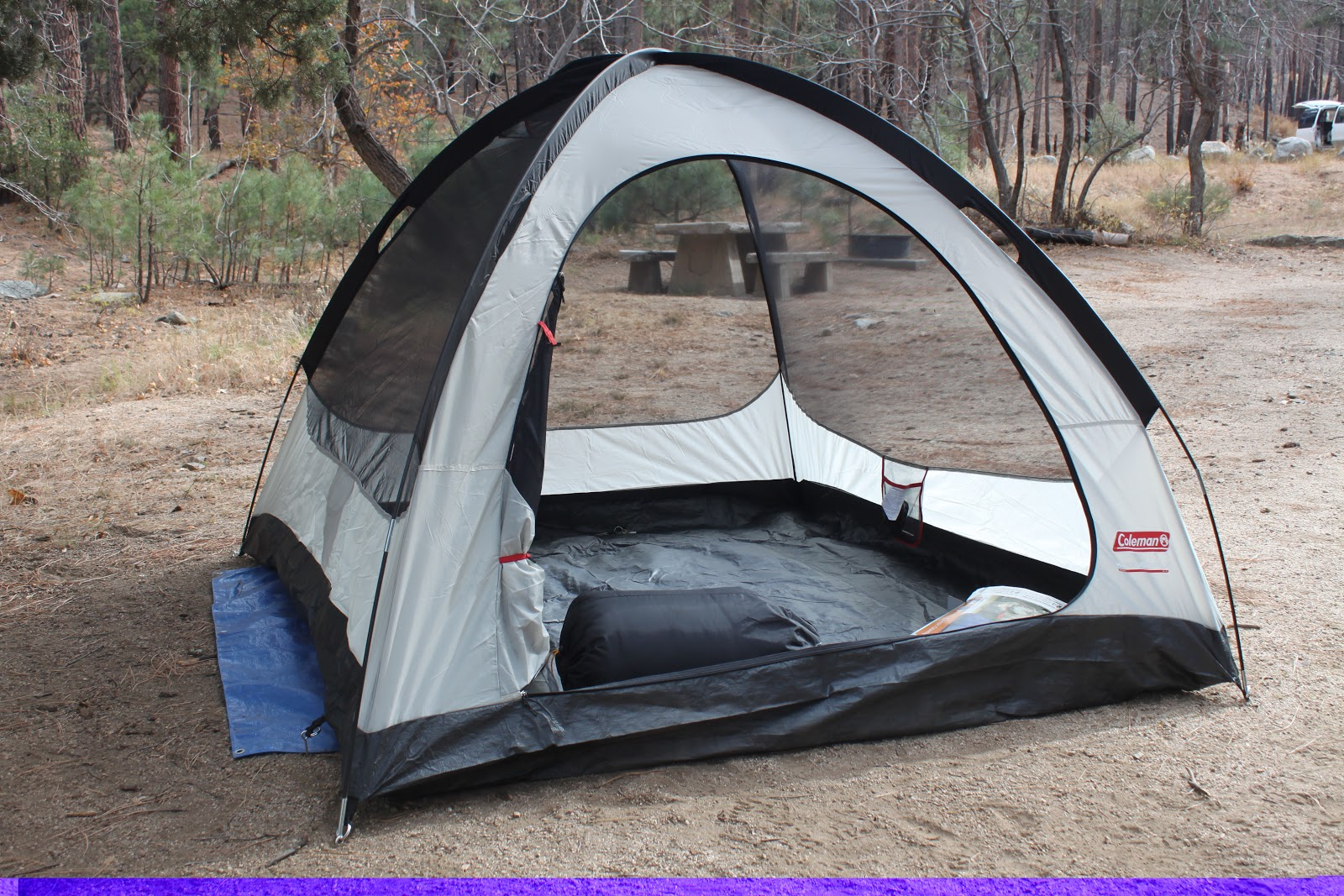 & Stereowise Plus: Coleman Hooligan 3 Tent Review
