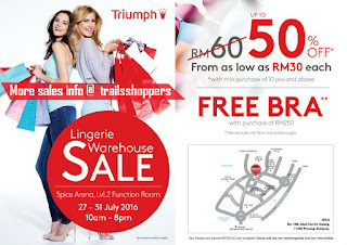 Triumph Lingerie Warehouse Sale