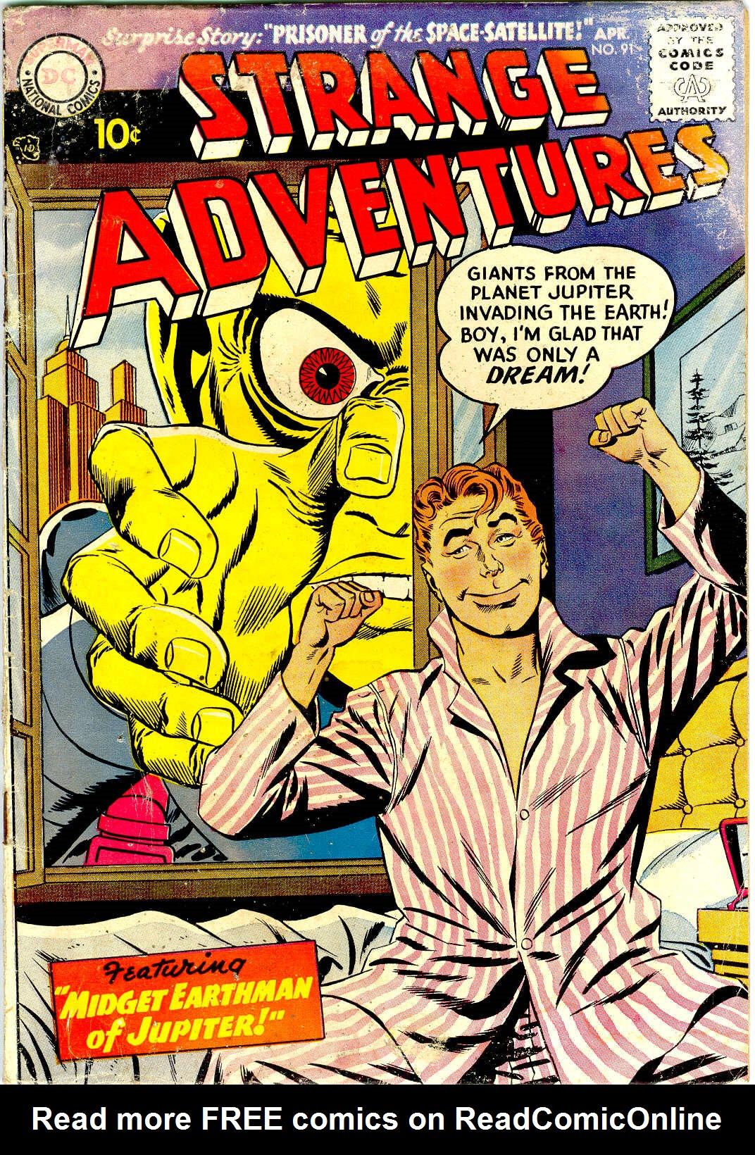 Strange Adventures (1950) issue 91 - Page 1
