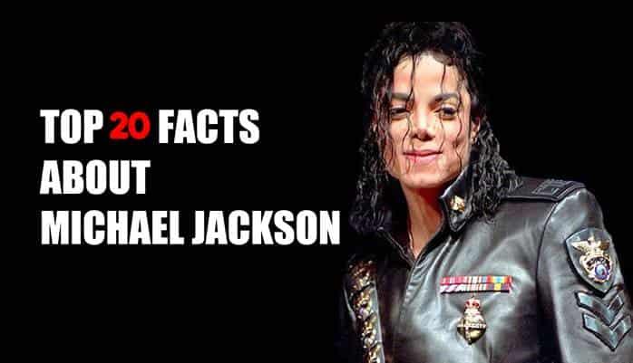 माइकल जैक्सन के बारे में 20 रोचक तथ्य - Michael Jackson Facts in hindi