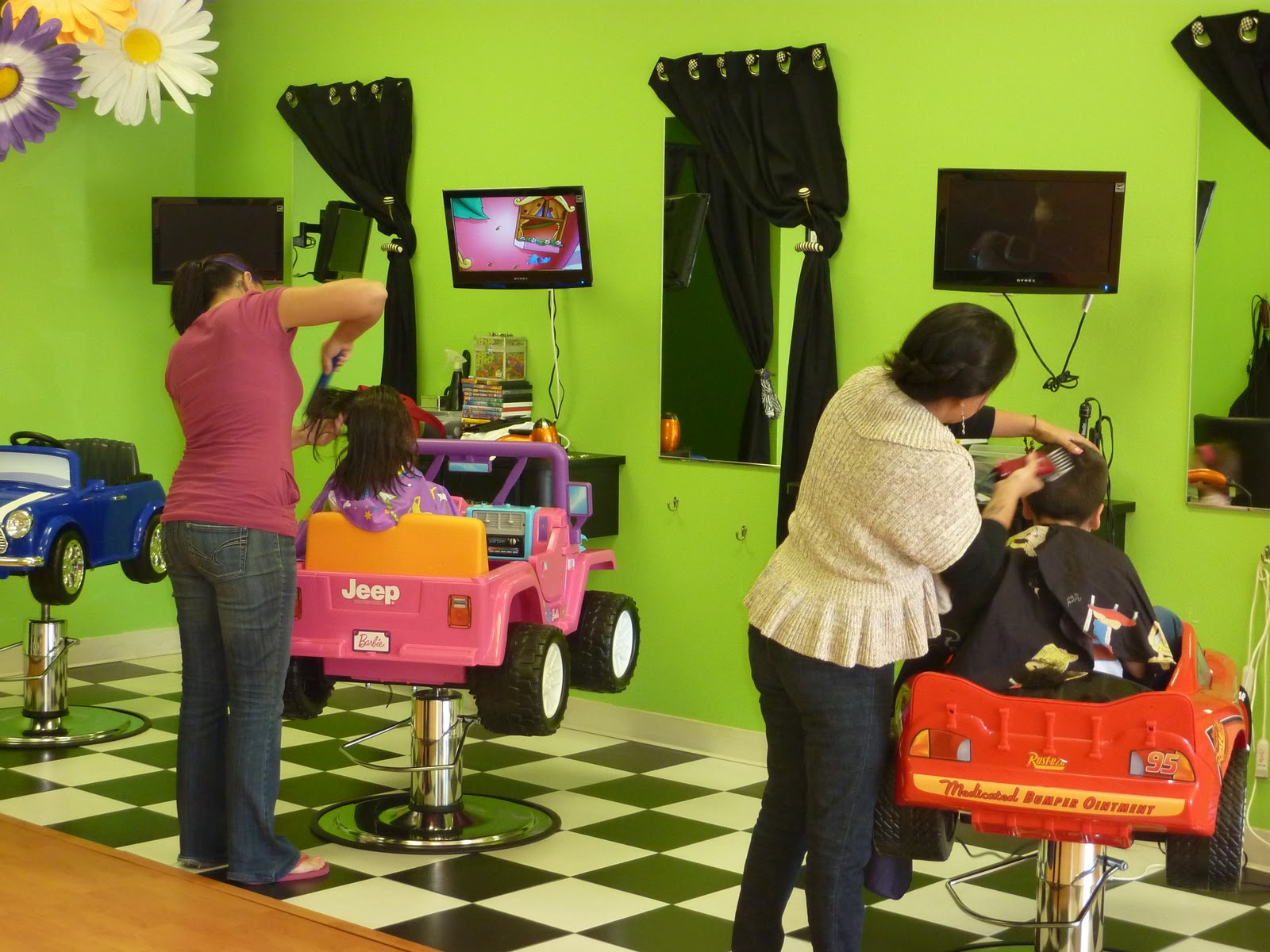 kids car barber chair to bed montebello mom sharkey 39s cuts for not just a