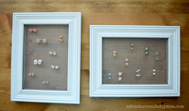 easy diy earring display