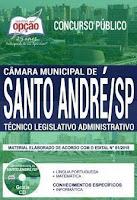 apostila concurso camara de santo andre tecnico legislativo administrativo