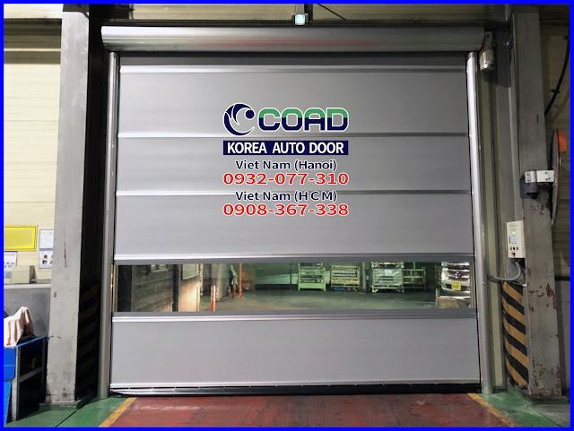 Cửa cuốn siêu tốc, cửa cuốn nhanh, cửa cuốn tốc độ cao, cửa công nghiệp, COAD